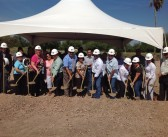 Ground Breaking Ceremony held for La Feria Safe Rooms (Domes)