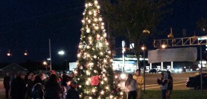 Ninth Annual Lighting of the Tree, November 13, 2014