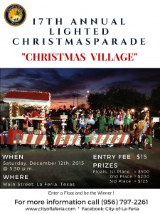 Lighted Christmas Parade for FB and Website