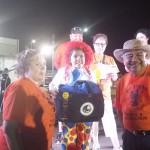 Zoe Garza -8 yrs. old - Clown, 2nd Place