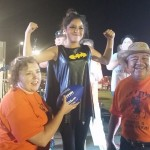 Sadie De Los Santos - 12 yrs. old - Bat Woman, 1st Place