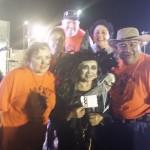 Flora Tamez - Over 18 - Witch, 1st Place winner with Tabitha Outlaw, Comm. Olga H. Maldonado, Comm. John E. Betancourt, Comm./Mayor Pro Tem Esmeralda Lozano & Mayor Victor Gonzalez, Jr.